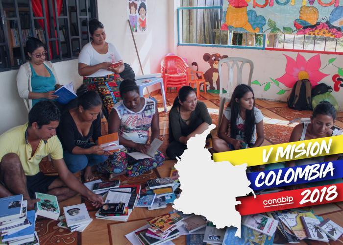 Misión Colombia 2018 - Convocatoria a bibliotecas populares