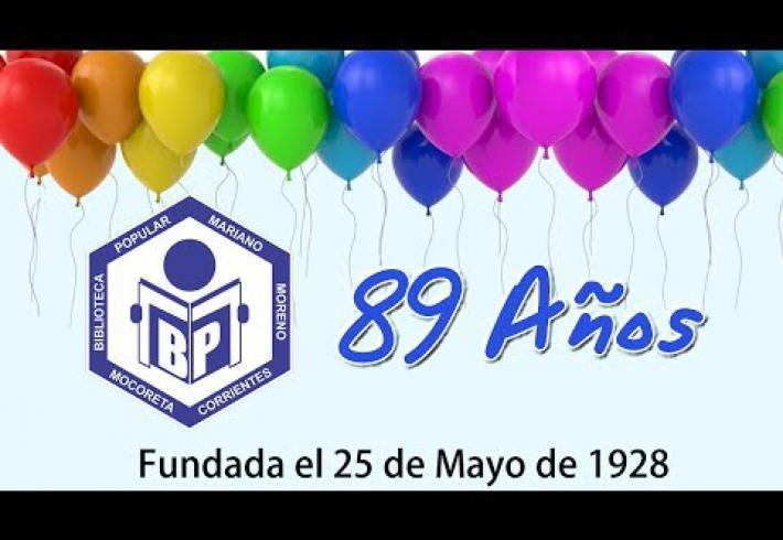 Embedded thumbnail for LA B.P. MARIANO MORENO DE MOCORETÁ, CUMPLE 89 AÑOS