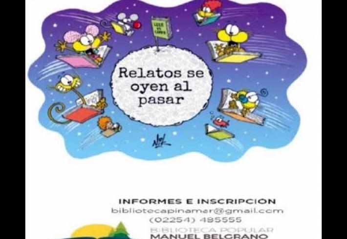 """Embedded thumbnail for 24-09-2021 """"Relatos se oyen al pasar """" 23ºMaratón de la Lectura"""