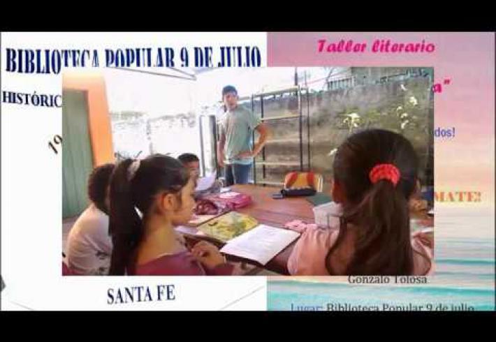 """Embedded thumbnail for Taller literario """"Corazón de tinta"""""""