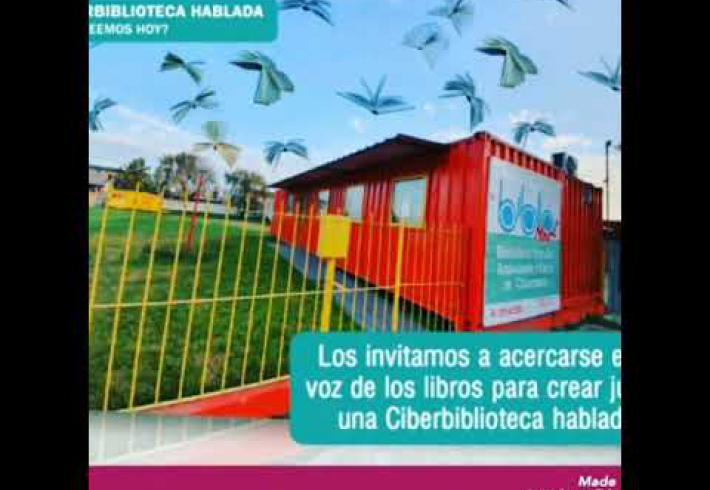 Embedded thumbnail for La ciberbiblioteca hablada