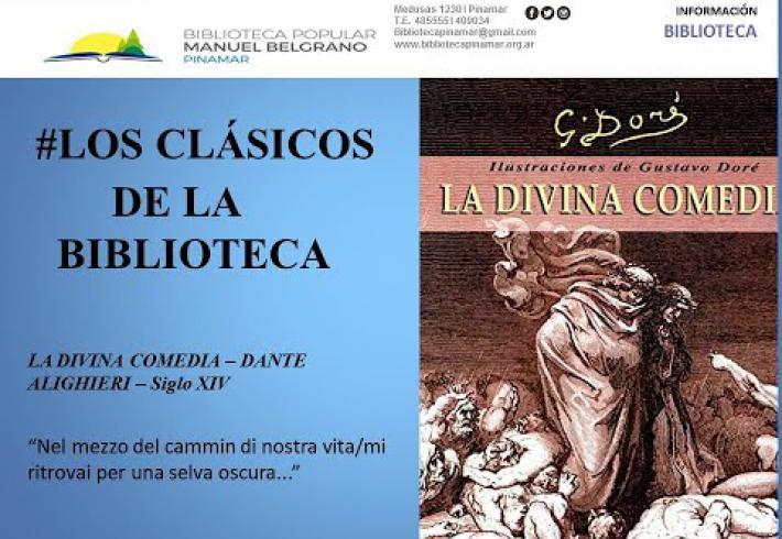 Embedded thumbnail for Sección  Los Clásicos de la Biblioteca :La Divina Comedia.