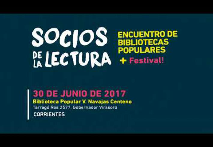 Embedded thumbnail for Encuentro de Bibliotecas Populares en Virasoro