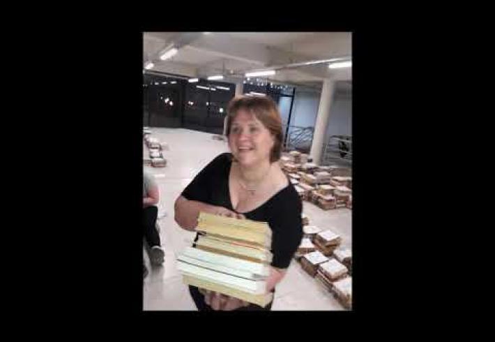"Embedded thumbnail for MUDANZA DE LA BIBLIOTECA POPULAR ""NOSOTROS""- FIRMAT - SANTA FE"