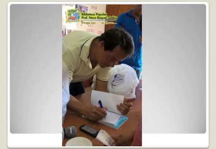 """Embedded thumbnail for MARATÓN DE LA LECTURA EN BIBLIOTECA POPULAR """"NORA R. GODOY""""......JUNTO A FABIO PEREZ PAZ Y SU """"DUENDE AMIGO""""....."""