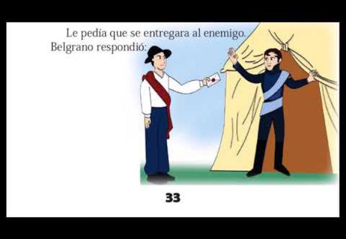 Embedded thumbnail for 20 de junio Día de la Bandera Nacional